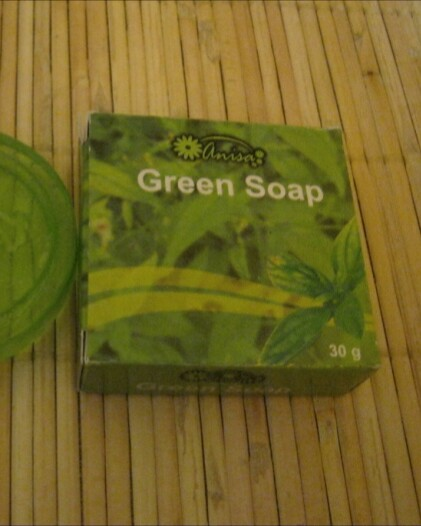 Anisa Green Soap